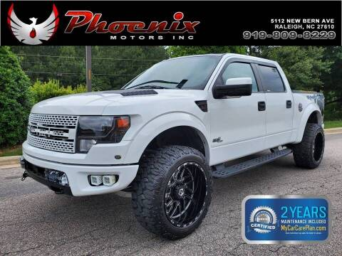 2014 Ford F-150 for sale at Phoenix Motors Inc in Raleigh NC