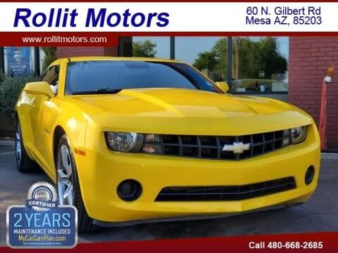 2010 Chevrolet Camaro for sale at Rollit Motors in Mesa AZ