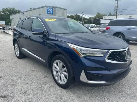 2019 Acura RDX for sale at DELRAY AUTO MALL in Delray Beach FL