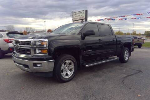 2015 Chevrolet Silverado 1500 for sale at Premier Auto Sales Inc. in Big Rapids MI