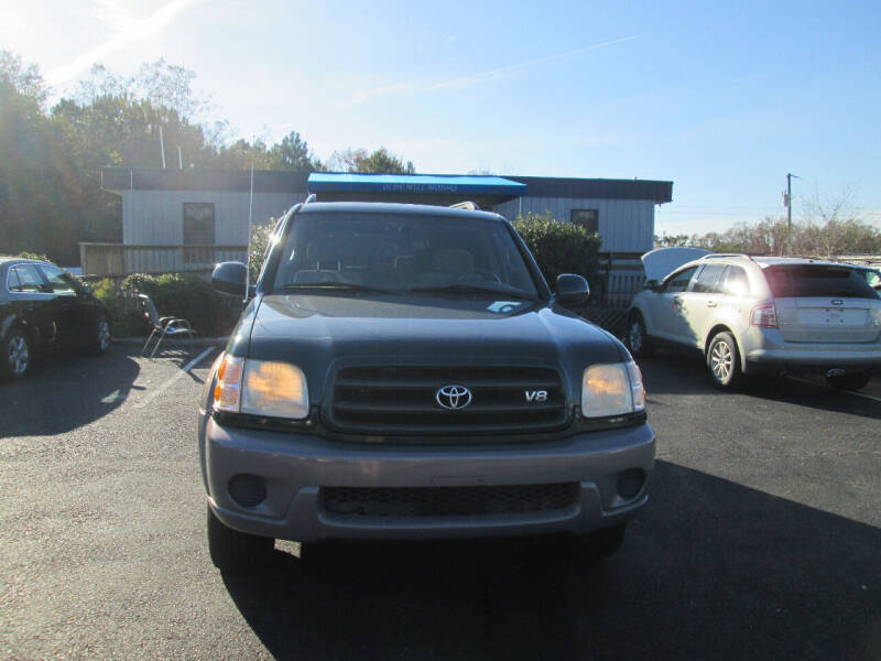 2002 Toyota Sequoia for sale at Olde Mill Motors in Angier NC