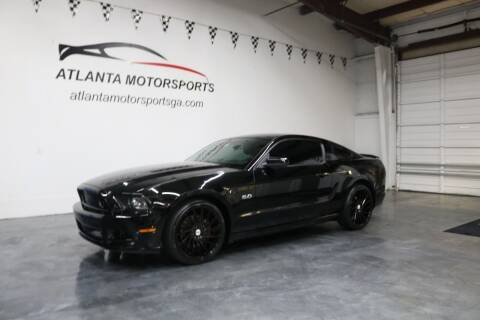 2013 Ford Mustang for sale at Atlanta Motorsports in Roswell GA