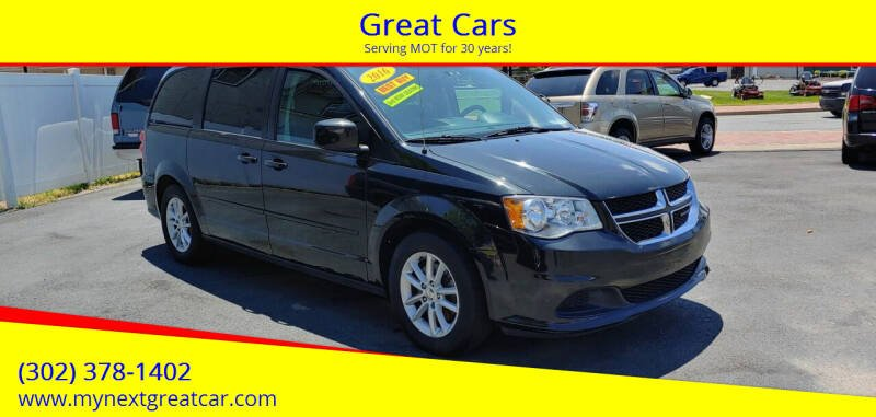 2016 Dodge Grand Caravan for sale at Great Cars in Middletown DE