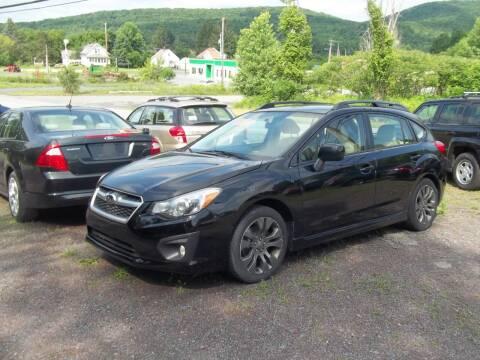 2013 Subaru Impreza for sale at Warner's Auto Body of Granville Inc in Granville NY