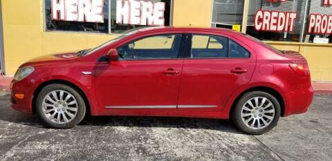 2013 Suzuki Kizashi for sale at BSS AUTO SALES INC in Eustis FL
