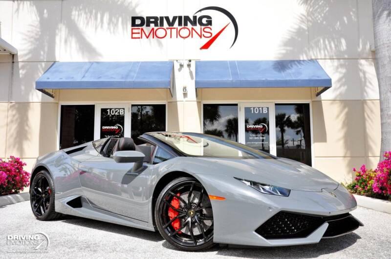 2017 Lamborghini Huracan for sale in Lake Park, FL