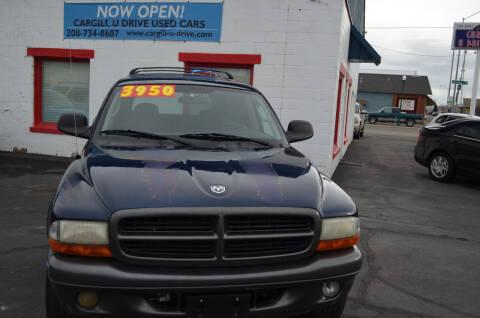 2002 Dodge Durango for sale at CARGILL U DRIVE USED CARS in Twin Falls ID