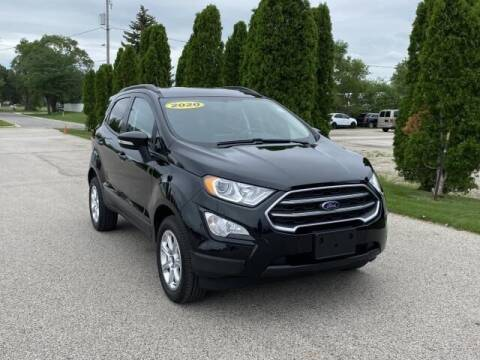 2020 Ford EcoSport for sale at Betten Baker Preowned Center in Twin Lake MI