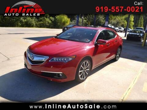 2017 Acura TLX for sale at Inline Auto Sales in Fuquay Varina NC