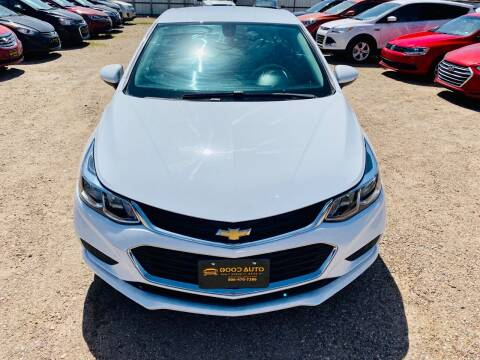2017 Chevrolet Cruze for sale at Good Auto Company LLC in Lubbock TX