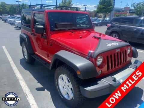 2014 Jeep Wrangler for sale at NATE WADE SUBARU in Salt Lake City UT