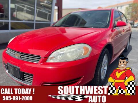 2009 Chevrolet Impala for sale at SOUTHWEST AUTO in Albuquerque NM