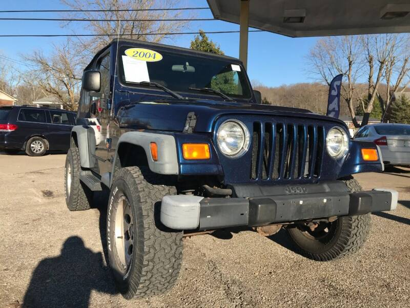 2004 Jeep Wrangler for sale at King Louis Auto Sales in Louisville KY