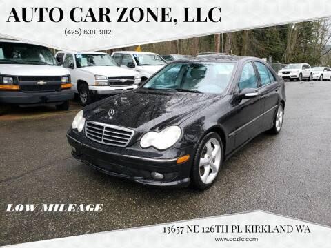 2005 Mercedes-Benz C-Class for sale at Auto Car Zone, LLC in Kirkland WA