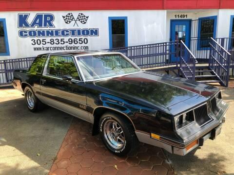 1986 Oldsmobile Cutlass Salon for sale at Kar Connection in Miami FL