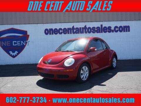 2010 Volkswagen New Beetle for sale at One Cent Auto Sales in Glendale AZ