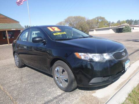 2012 Kia Forte for sale at Country Side Car Sales in Elk River MN