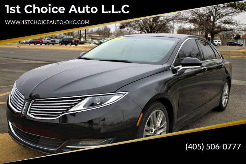 2015 Lincoln MKZ for sale at 1st Choice Auto L.L.C in Oklahoma City OK