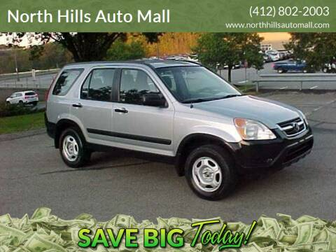 2002 Honda CR-V for sale at North Hills Auto Mall in Pittsburgh PA