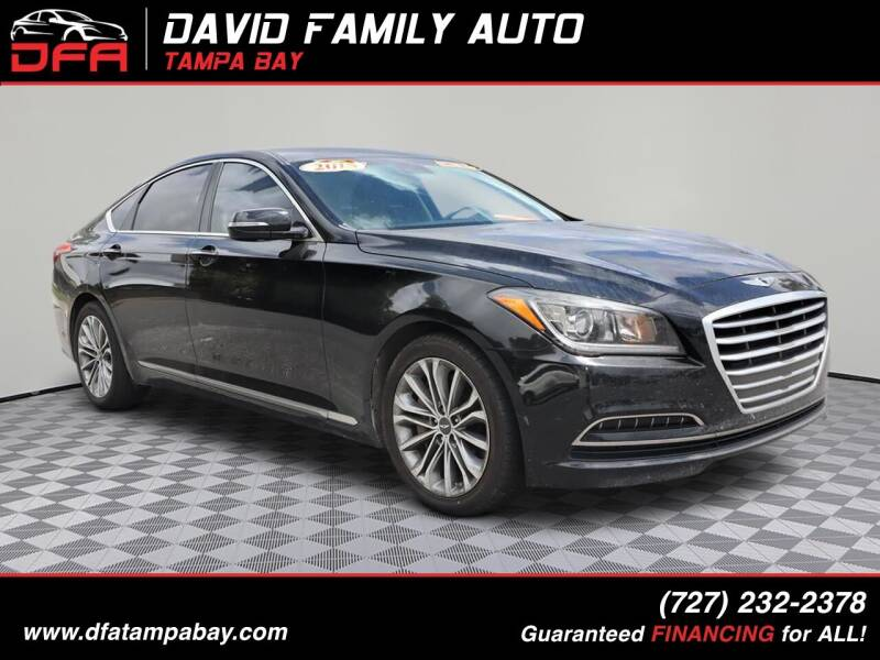 2015 Hyundai Genesis for sale at David Family Auto in New Port Richey FL