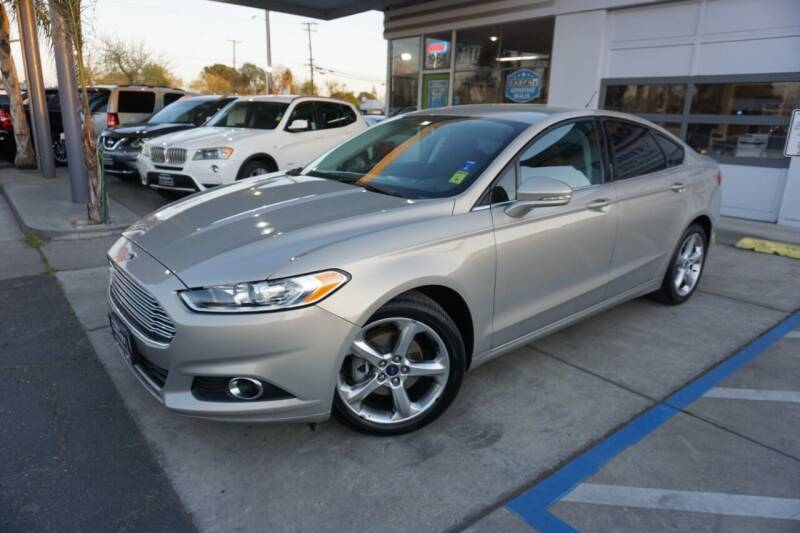 2016 Ford Fusion for sale at Industry Motors in Sacramento CA