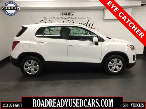 2016 Chevrolet Trax for sale at Road Ready Used Cars in Ansonia CT