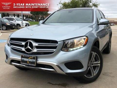 2017 Mercedes-Benz GLC for sale at European Motors Inc in Plano TX