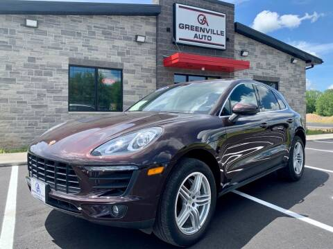 2015 Porsche Macan for sale at GREENVILLE AUTO & RV in Greenville WI