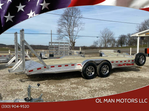 2021 Wolverine 7 x 22 Trailer for sale at Ol Man Motors LLC in Louisville OH