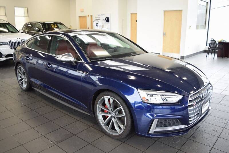 2018 Audi S5 Sportback for sale at BMW OF NEWPORT in Middletown RI