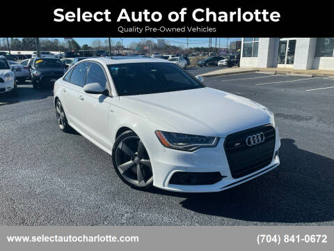 2014 Audi S6 for sale at Select Auto of Charlotte in Matthews NC