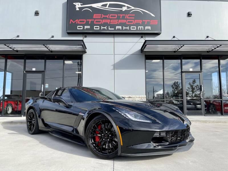 2019 Chevrolet Corvette for sale at Exotic Motorsports of Oklahoma in Edmond OK