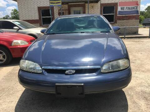 1997 Chevrolet Monte Carlo for sale at OLVERA AUTO SALES in Terrell TX