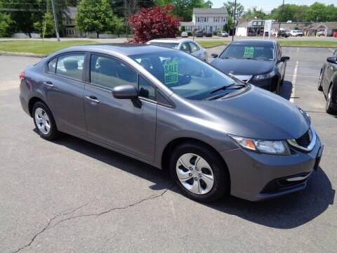 2014 Honda Civic for sale at BETTER BUYS AUTO INC in East Windsor CT