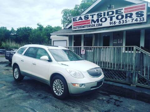2012 Buick Enclave for sale at EASTSIDE MOTORS in Tulsa OK