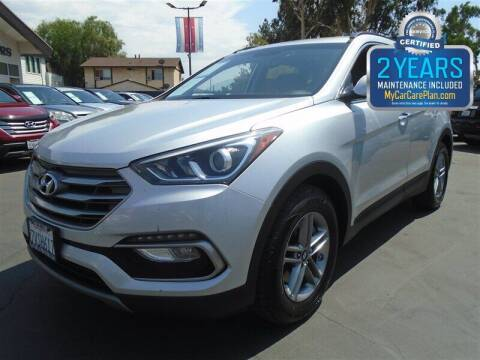 2017 Hyundai Santa Fe Sport for sale at Centre City Motors in Escondido CA