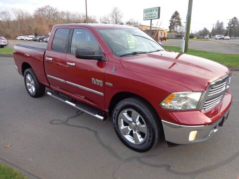 2013 RAM Ram Pickup 1500 for sale at BETTER BUYS AUTO INC in East Windsor CT
