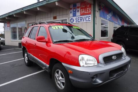2004 Hyundai Santa Fe for sale at 777 Auto Sales and Service in Tacoma WA