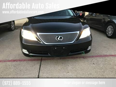 2008 Lexus LS 460 for sale at Affordable Auto Sales in Dallas TX