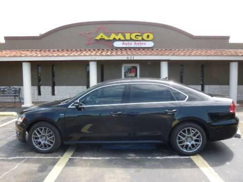 2015 Volkswagen Passat for sale at AMIGO AUTO SALES in Kingsville TX