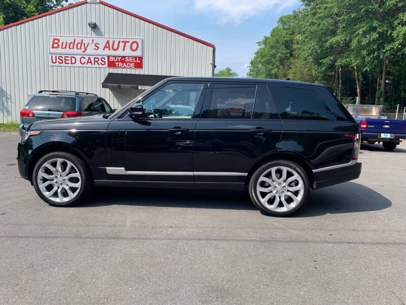 2016 Land Rover Range Rover for sale at Buddy's Auto Inc in Pendleton SC