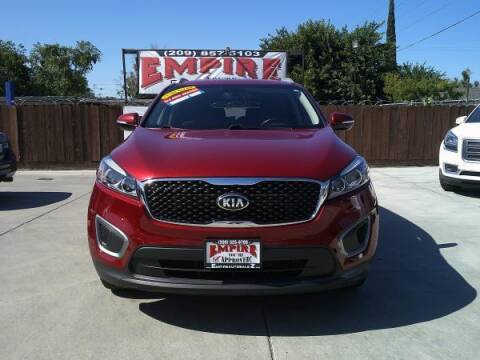 2016 Kia Sorento for sale at Empire Auto Sales in Modesto CA