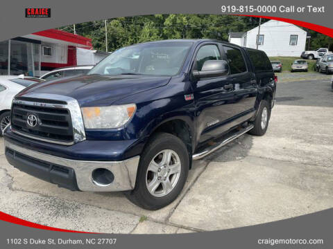 2012 Toyota Tundra for sale at CRAIGE MOTOR CO in Durham NC