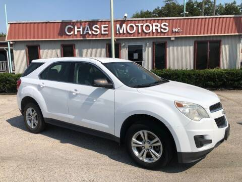 2010 Chevrolet Equinox for sale at Chase Motors Inc in Stafford TX