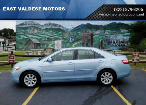 2009 Toyota Camry for sale at EAST VALDESE MOTORS / VINSON AUTO GROUP in Valdese NC