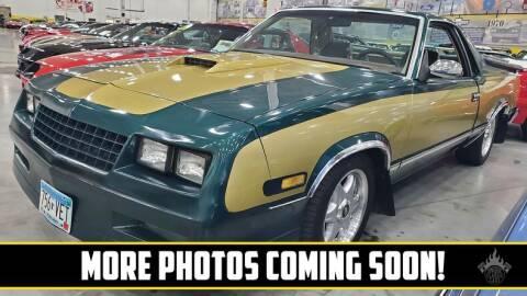 1985 Chevrolet El Camino for sale at UNIQUE SPECIALTY & CLASSICS in Mankato MN