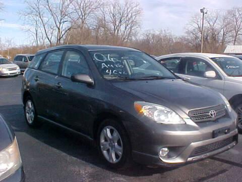 2006 Toyota Matrix for sale at Bates Auto & Truck Center in Zanesville OH