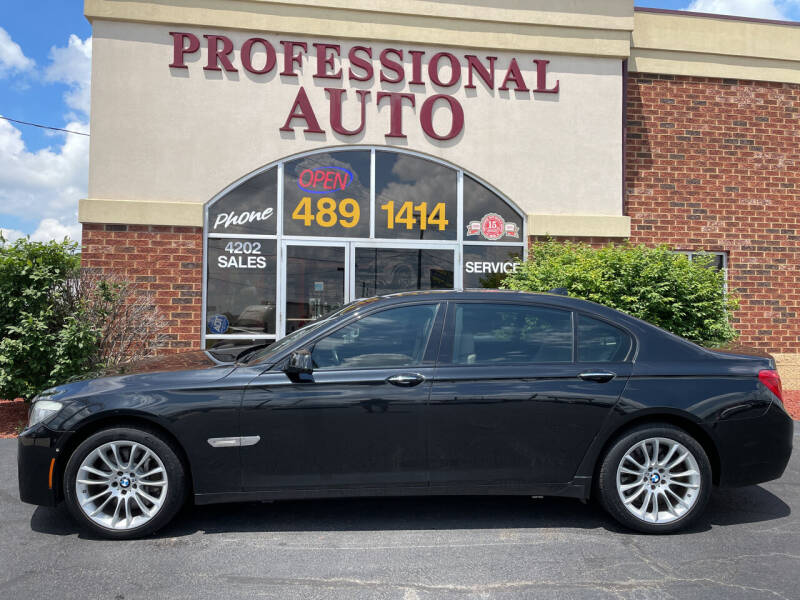 2011 BMW 7 Series for sale at Professional Auto Sales & Service in Fort Wayne IN