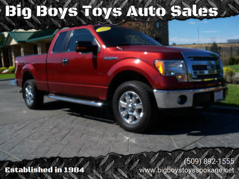 2014 Ford F-150 for sale at Big Boys Toys Auto Sales in Spokane Valley WA