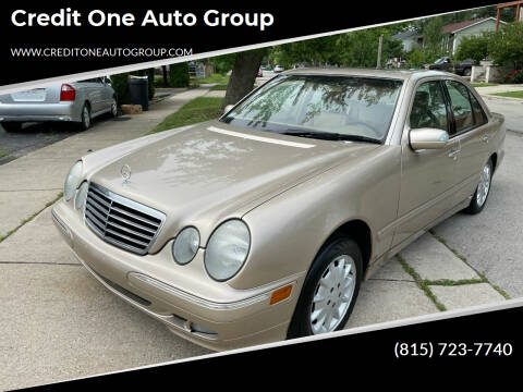 2002 Mercedes-Benz E-Class for sale at Credit One Auto Group in Joliet IL